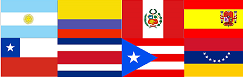 Flags LatAm